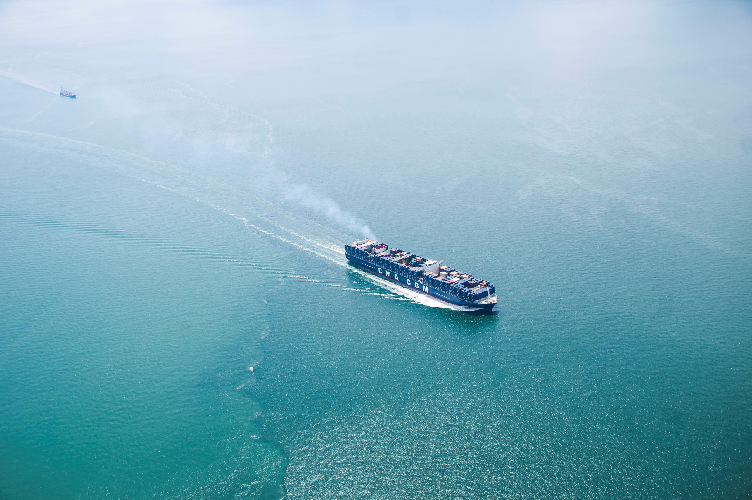 Porte-conteneurs CMA CGM pour voyager sur les mers du globe