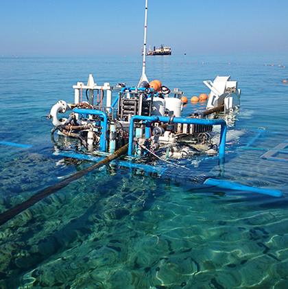 Pose de câbles sous-marins