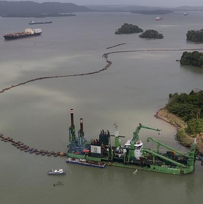 Approvisionnement de sables marins