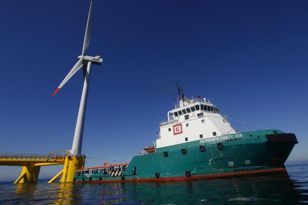 Eolien flottant : Bourbon Subsea Services remporte un  nouveau contrat