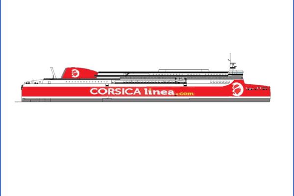 CORSICA linea acquiert son premier navire neuf au GNL