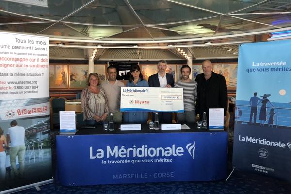 La Méridionale rejoint le réseau de donateurs de l'association INSEME